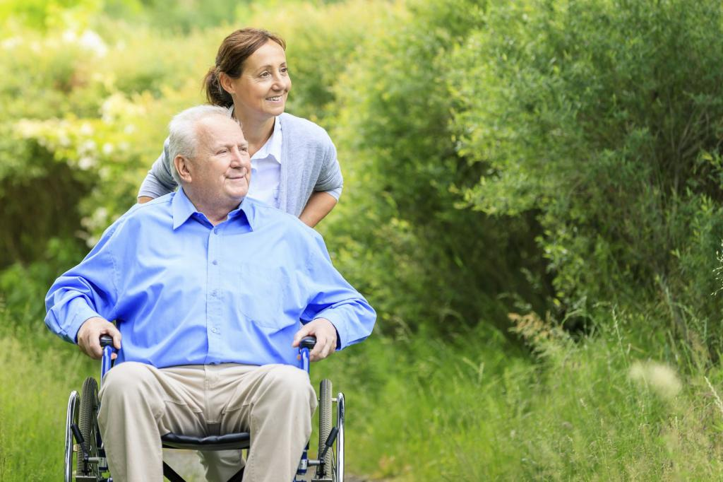 патронаж в доме престарелых
