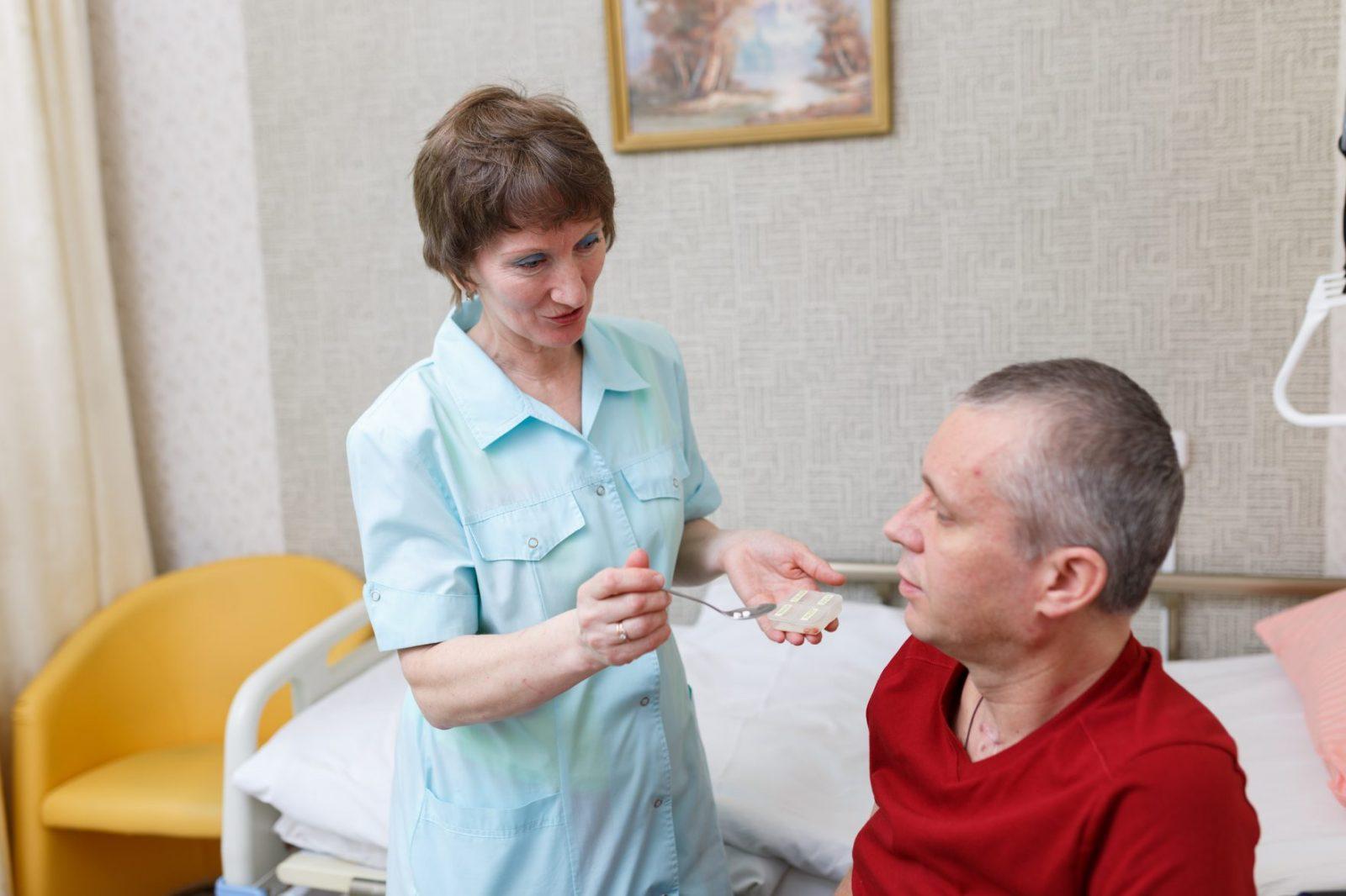 условия реабилитации склеротика