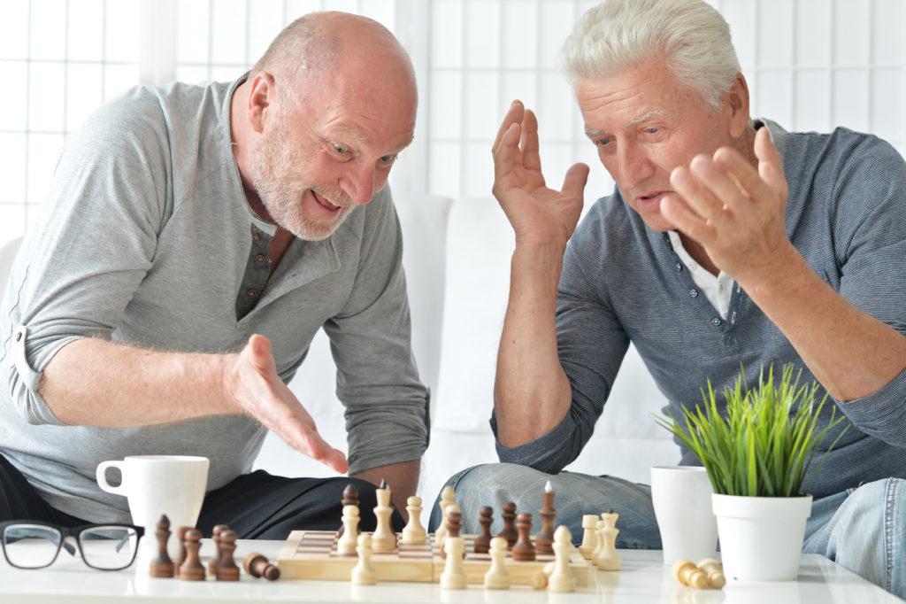 душевнобольные старики