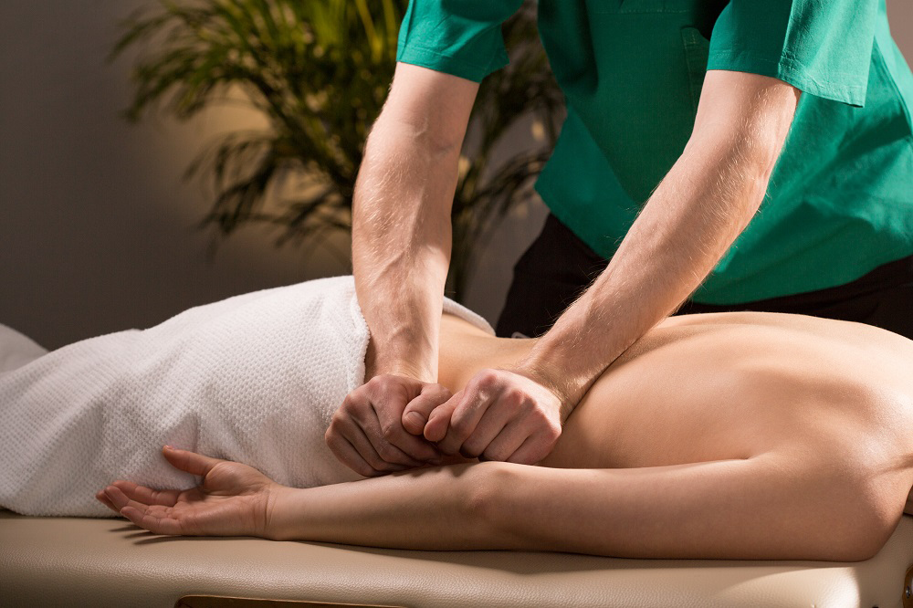 массаж спины